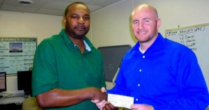 Donation to Portsmouth Red Sox